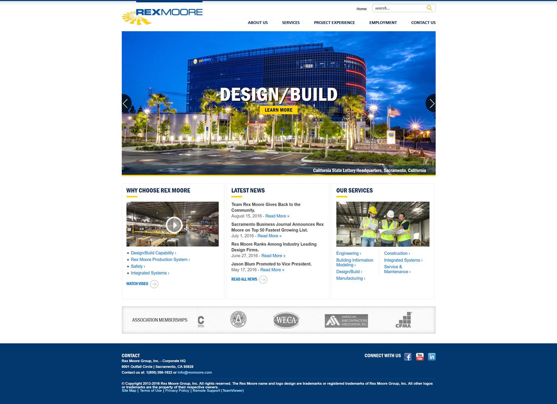 Rex Moore Electrical Contractors and Engineers | Sacramento Website ...